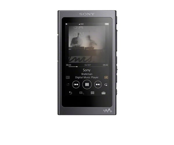 SONY NWA45 NEGRO GRISÁCEO WALKMAN 16GB REPRODUCTOR DE AUDIO DE ALTA RESOLUCIÓN HI RES S-MASTER HX BLUETOOTH NFC NOISE CANCELLING