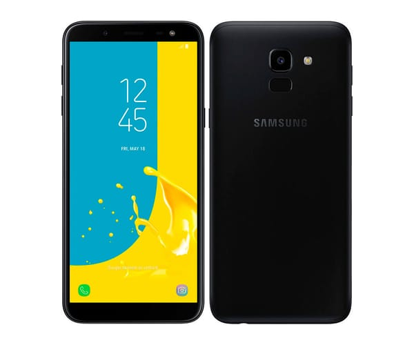 SAMSUNG GALAXY J6 (2018) NEGRO MÓVIL 4G DUAL SIM 5.6'' SAMOLED HD+/8CORE/32GB/3GB RAM/13MP/8MP