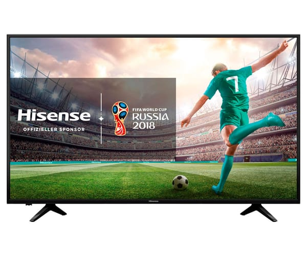 HISENSE H65A6100 TELEVISOR 65'' LCD DIRECT LED UHD 4K HDR 1600Hz SMART TV WIFI