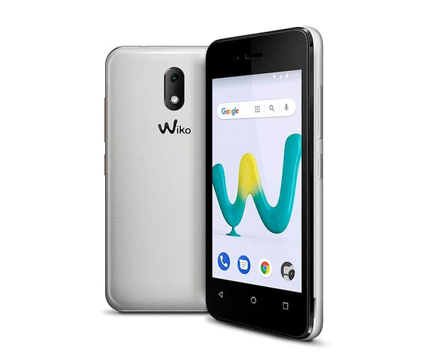 WIKO SUNNY3 MINI BLANCO MÓVIL 3G DUAL SIM 4'' TFT WVGA/4CORE/8GB/512MB RAM/2MP/VGA