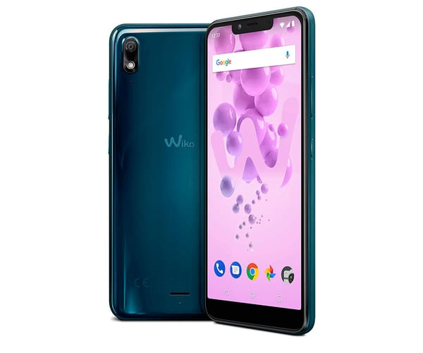 WIKO VIEW2 GO AZUL MÓVIL 4G DUAL SIM 5.93'' IPS HD+/8CORE/16GB/2GB RAM/12MP/5MP