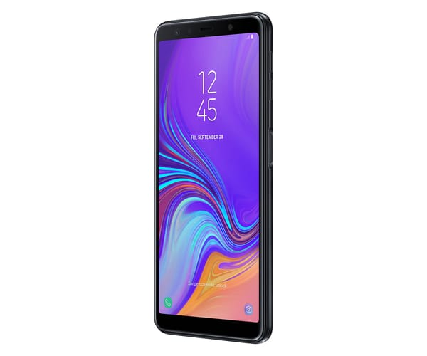 SAMSUNG GALAXY A7 (2018) NEGRO MÓVIL 4G DUAL SIM 6.0'' SUPER AMOLED FHD+/8CORE/64GB/4GB RAM/24MP+5MP+8MP/24MP