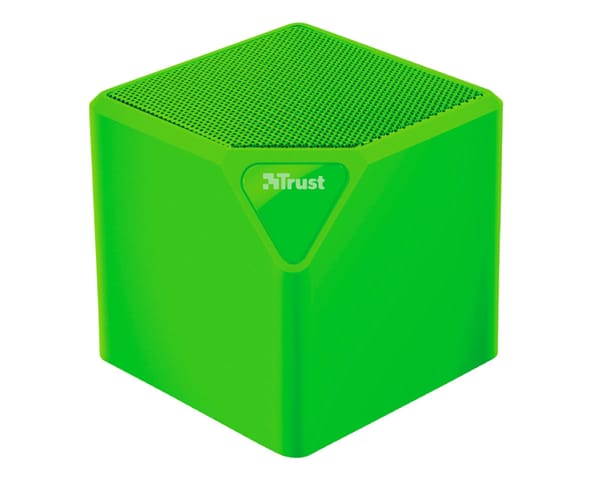 TRUST PRIMO WIRELESS BLUETOOTH SPEAKER VERDE MINI ALTAVOZ INALÁMBRICO 3W RMS BLUETOOTH USB MICROSD Y AUX